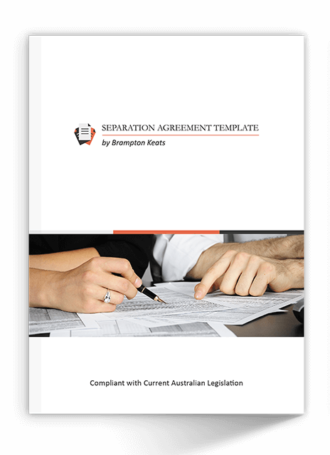 Binding financial separation agreement template by bk the separation agreement kit solutioingenieria Choice Image